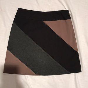 Colorblock skirt, size 6, excellent condition